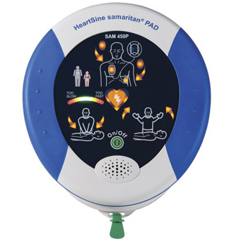 HeartSine AED machine